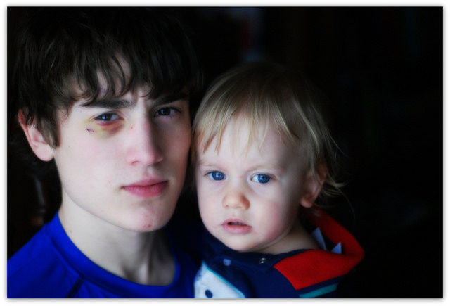On Seeing my Son in a Surgical Gown